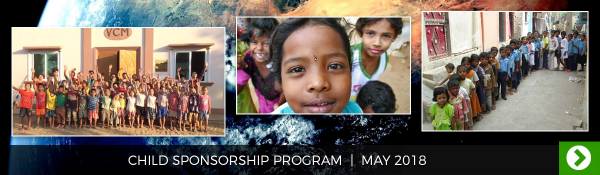May 2018 - Child Sponsorship Program
