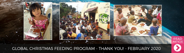 February 2020 - Global Christmas Feeding Program THANK YOU