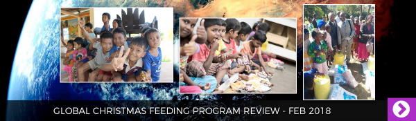 February 2018 - Global Christmas Feeding Program Review