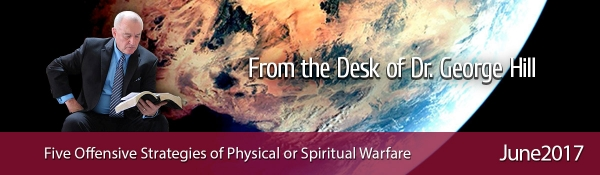 Five Offensive Strategies of Physical or Spiritual Warfare