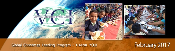February 2017 - Global Christmas Feeding Program - Thank You