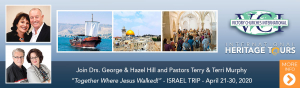 Together Where Jesus Walked - Israel Trip 2020