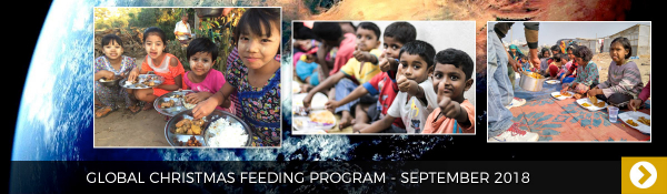 September 2018 - Global Christmas Feeding Program